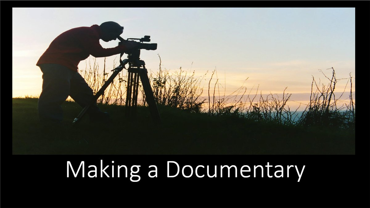 Making-a-documentary