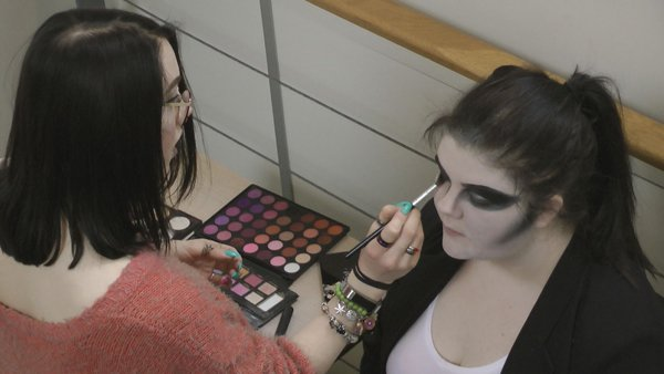 Making up the witch
